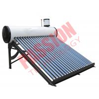Quality Passive Solar Water Heater Pressurized , Solar Preheat Hot Water Heater 180L for sale