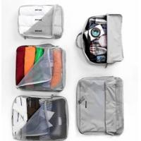 Quality V-Share Bag in bag 5 pieces set travel packing cube in Grey for sale