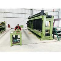 Buy Hexagonal Wire Mesh Machine 4300mm Working Width With Touch Screen PLC Control at wholesale prices