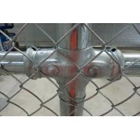 Quality Galvanized/PVC coated chain link fence( diamond wire mesh) for sale