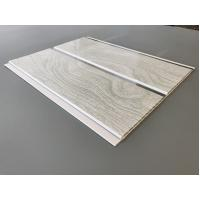 Buy High Strength Peanut Pattern Groove Shaped PVC Wood Panels 250 × 7mm at wholesale prices