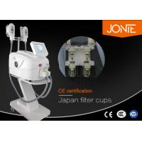 Portable Cryolipolysis Slimming Machine With Double Hand Pieces Working Simultaneously