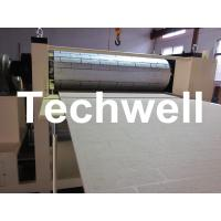 Quality Pattern Carved Depth 0.4 - 0.7mm MDF Panel Embossing Machine With Speed Frequency Control for sale