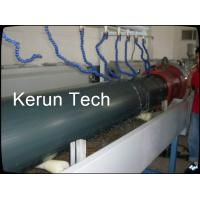 Quality Water Gas Oil HDPE Pipe Extrusion Machine / Plastic Pipe Production Line for sale