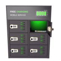 Quality Popular mobile phone 6 bay charging locker for sale