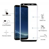 Quality 9H Hardness 2.5 D Tempered Glass Screen Protector Anti Fingeprint / Oil / Dust for sale