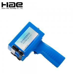 Quality Bottle Box Handheld Thermal Inkjet Printer , Easy Operate Expiry Date Inkjet Printer for sale