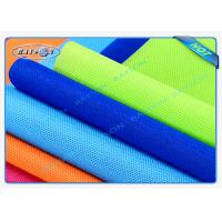 Quality Green / Blue Package Material Polypropylene Non Woven Fabric Spunbond 80gsm Various Colors for sale