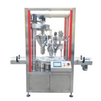 Quality Automatic milk powder packing machine auger filler machine,cheap can tin pckaging machine with auger filler for sale