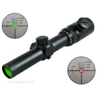 Quality laser green riflescope 1.25 - 5×26 IR illuminated riflescopes for sale
