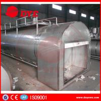 Quality Refrigerated Milk Tank Stainless Steel Tanks For Dairy Milk Transportation for sale