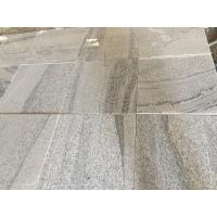 Quality Viscount White Vein Light Grey Grey Granite Bathroom Tiles For Swimming Poor for sale
