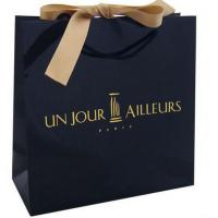 Buy cheap Hot 2015 high quality luxury shopping packaging paper bag from wholesalers
