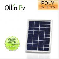 Quality Crystalline PV Modules Polycrystalline Solar Panel Anodized Aluminium Alloy Frame for sale