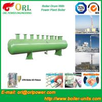 Quality 100 ton SA516 GR70 boiler mud drum for natural gas industry for sale