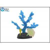 Buy Safety Silicone Rubber Aquarium Tank Decorations , Home Decorative Coral Ornaments at wholesale prices