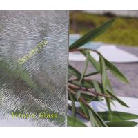 Buy 3mm to 8mm Chinchilla  Patterned Glass, Rolled Glass, Figured Glass with Certificate ISO and BV at wholesale prices