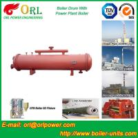 Quality Cement industry steam boiler mud drum TUV for sale