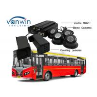 Quality 3G / 4G Real - Time Bus People Counter GPS Tracking OSD With Mouse / Remote Control for sale