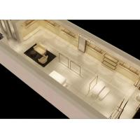 Buy Beautiful White Color Retail Clothing Fixtures For Lady Clothing Display at wholesale prices