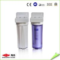 Quality 10 Inch Single Stage UF Water Filter 0.2 - 0.4MPa Max Pressure CE Approved for sale