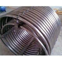 China GR2 Titanium Coil pipe With flange joint Factory produce of Swimming pool heating on sale