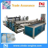 Quality full automatic toilet paper machine toilet paper production line toilet roll packing machine xinda for sale