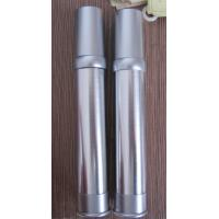 Quality empty 15ml  20ml 30ml 35ml cosmetic airless bottle with  brush finish wire drawing for sale