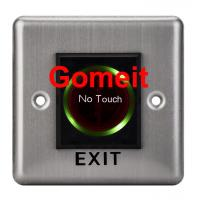 Quality Stainless Steel No Touch Exit Switch / Door Button for sale