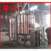 Quality 100L Micro Commercial Beer Brewery Equipment Ra0.4um Polishing Precision for sale