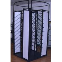 Quality Black Flooring Display Racks , Metal Retail Shop Display Racks for sale