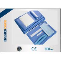 Buy cheap SMS Disposable Surgical Packs Blue Caesarean Section Set With EO And ISO/CE from wholesalers