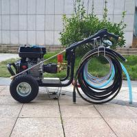 Buy 13HP Gasoline Powered Hot Water High Pressure Washer for Grease Cleaning at wholesale prices