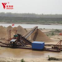 Quality Large Scale Mining Gold Dredging Boat Alluvial Gold Dredging Machinery for sale