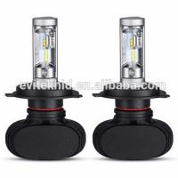 Quality Fanless 50W S1 Car LED Headlight Bulbs / H4 9003 LED Auto Headlight Kits for sale