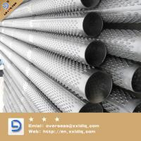 Quality spiral welded perforated metal pipe for sale