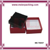 Quality Wine Red Matt Embossed Luxury Watch Paper Box/Jewelry Gift Watch Paper Box with Foam ME-TB007 for sale