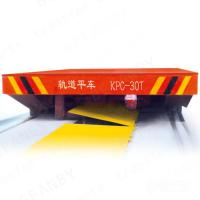 Quality High Frequency Sliding Wire Powered Low Platform Rail Trailer for sale
