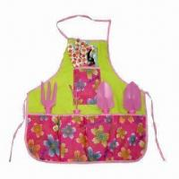 Quality Fashionable Garden Tools Set with Apron for sale