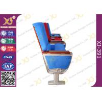 Quality Air Bus Boeing Air Craft Type Folding Table Theatre Seating Chairs By Aluminum Alloy Structure for sale