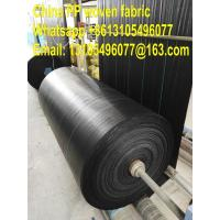 Quality 100% PP agricultural mulch film /weed barrier/pp weed control mat/ weed stop pp ground cover for sale