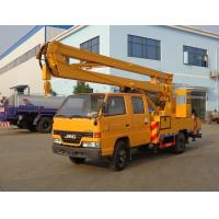 Quality High Altitude Operation Aerial Truck Equipment , JMC 14 Meters Elevating Platform Truck for sale
