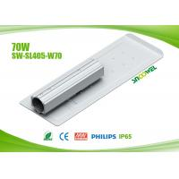 Quality High Brightness Warm White Outdoor LED Street Lights Retrofits 70w With 130lm / W for sale