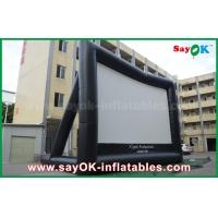 Buy cheap Giant 10 mL x 7 mH Projection Cloth Inflatable TV Screen CE / SGS Certificate from wholesalers
