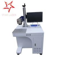 Quality Keyboard Portable Fiber Laser Marking Machine Compact Without Consumptive Materials for sale