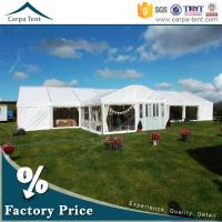 Buy 20mx30m Large Party Tent Anti-UV Waterproof White Tents for Outdoor Functions at wholesale prices