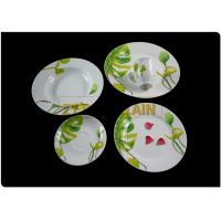 Porcelain Material Round Dinnerware Sets For Hotel And Restaurant Usage