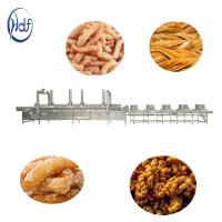 Quality Electric Gas Puffed Automatic Food Processing Machines Automatic Chips Frying Machine for sale