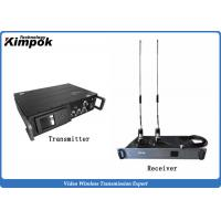 Buy NLOS Rugged COFDM HD Wireless Transmitter , 1080P HD Wireless Video Sender with Data Encryption at wholesale prices