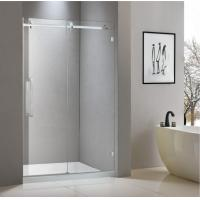 Buy cheap Stainless steel shower enclosure 1200*2000 with one sliding door and one fixed from wholesalers